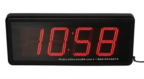 muscle driver usa clock manual