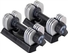 Stamina 25 lb. Versa-Bell II Adjustable Dumbbell Pair