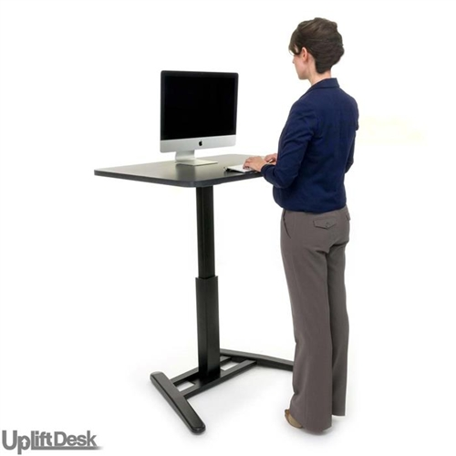 elite imovr thermodesk of reviews uplift review standing desk side image workstation view