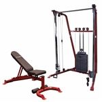 BODY SOLID BFFT10 FUNCTIONAL TRAINER / BENCH