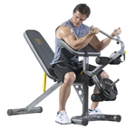 Golds Gym XRS Olympic Bench with Spotters