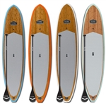 Paddle Boards 11 foot touring eco bamboo