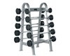 YORK ETS Fixed Straight And Curl Bar Rack
