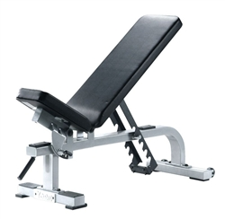 York Flat-To-Incline Bench (White)