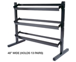 York Dumbbell Rack 13 pair