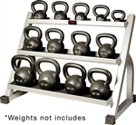 York Kettlebell Stand with Kettlebells