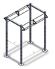 jfit Fors 6 Training Rack Black